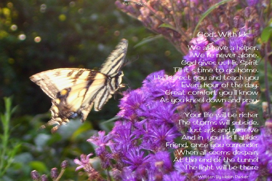Image of butterfly here with poem